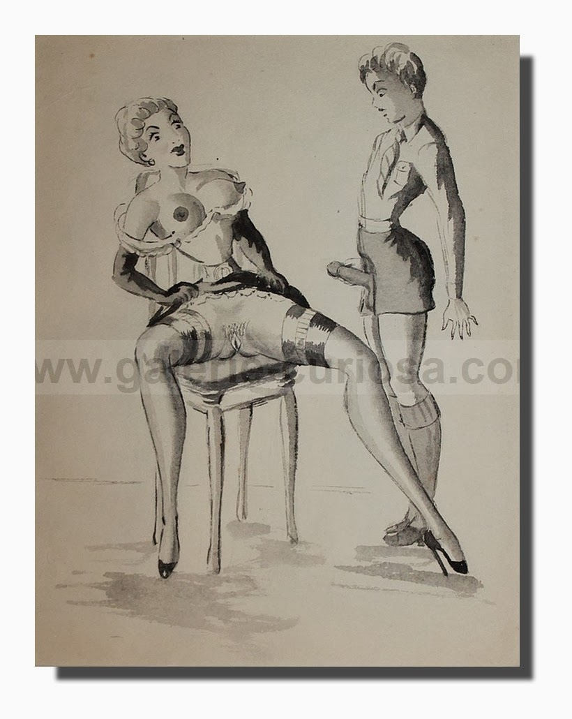 erotique vintage travesti black