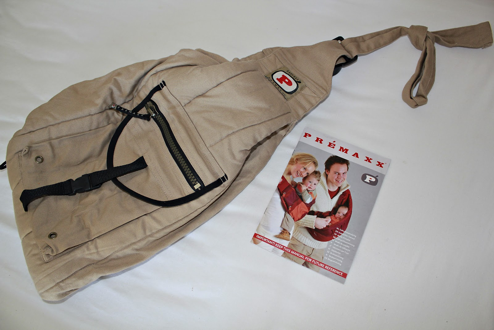 dce078c32eb Porte-bébé baby-bag Premaxx