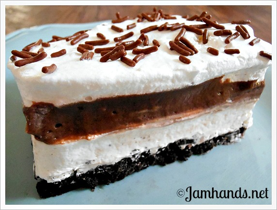 Jam Hands: Classic Oreo Icebox Dessert