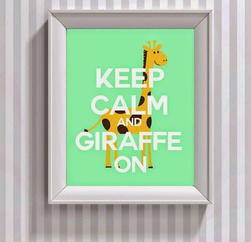 giraffe home decor