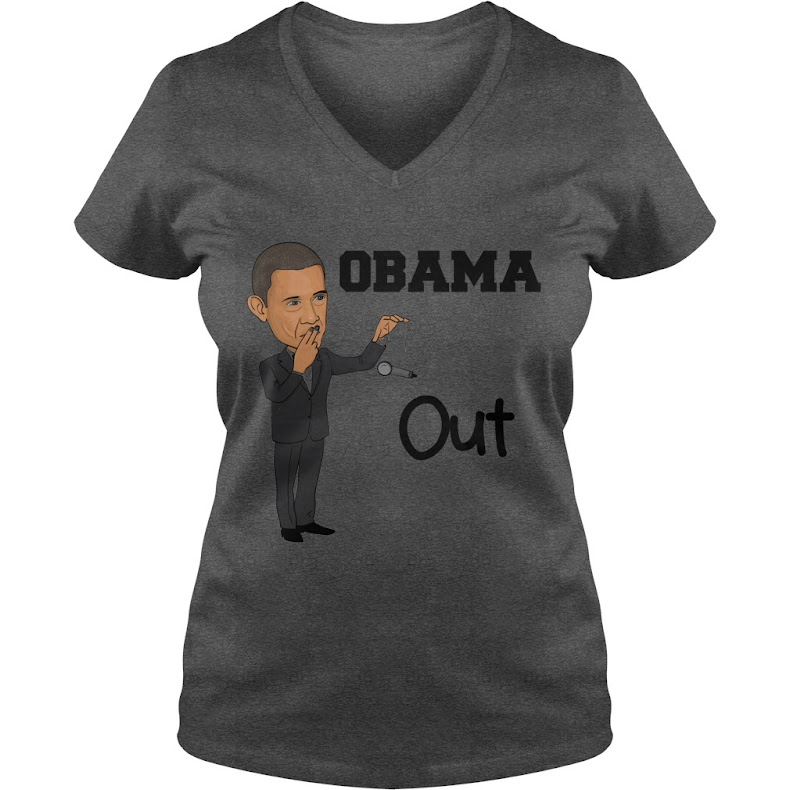 "Exclusive ""Obama Out"" tee"