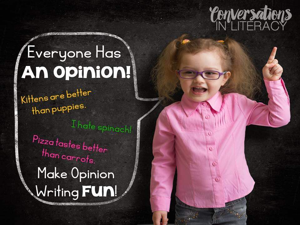 Making Writing about Opinions Fun!