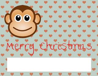 Monkey card 1