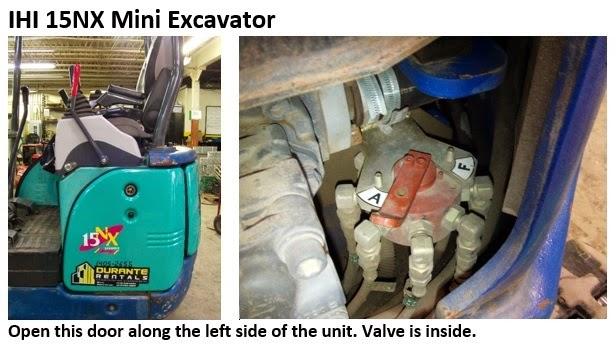 IHI 15NX Excavator Controls Change