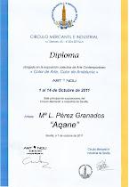 "Diploma del Circulo Mercantil e Industrial de Sevilla 2011: ""Color de Arte, Color de Andalucía"""