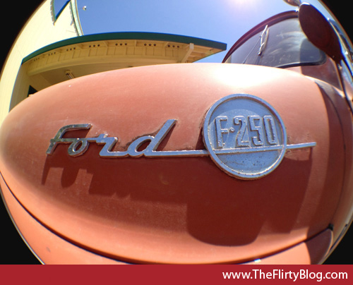 Ford F-250 Pickup, name plate