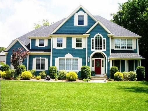 gambar ide warna eksterior rumah