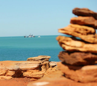 hands off country sky news brown in broome for gas hub talks
