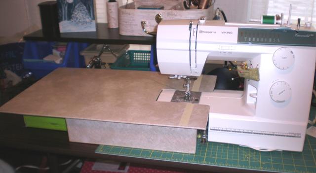 plexiglass sewing machine extension table