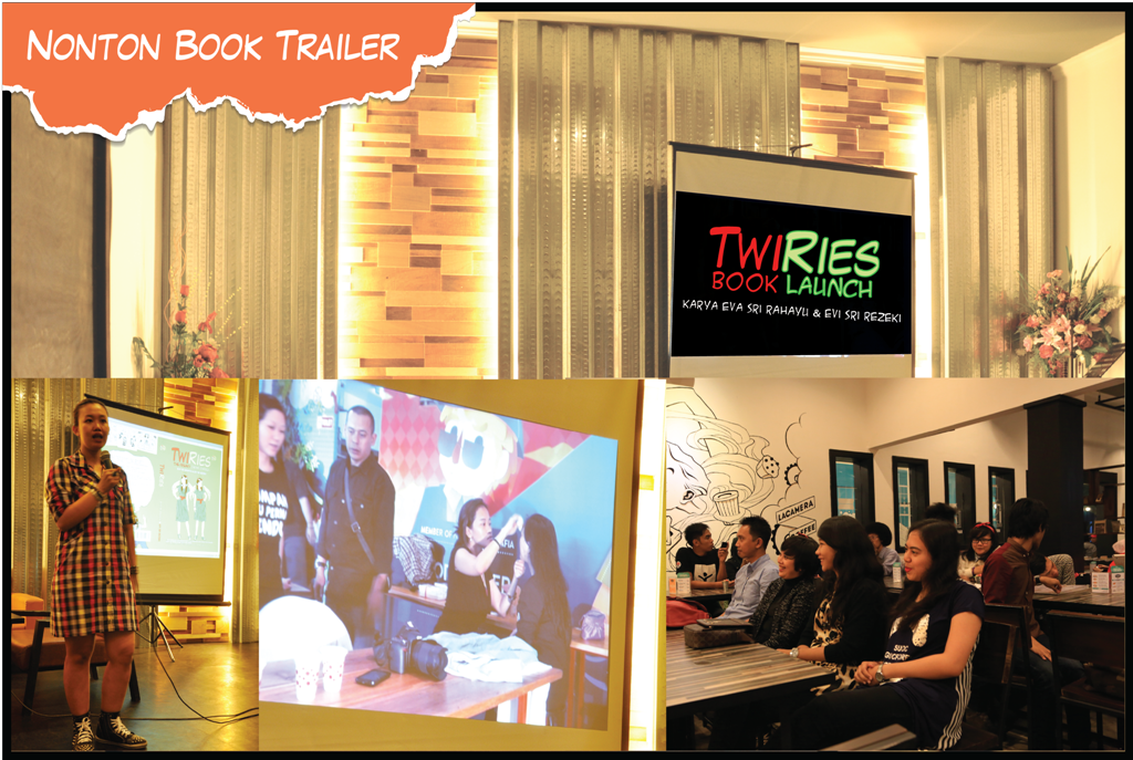 Nonton TwiRies Book Trailer Behind the Scene