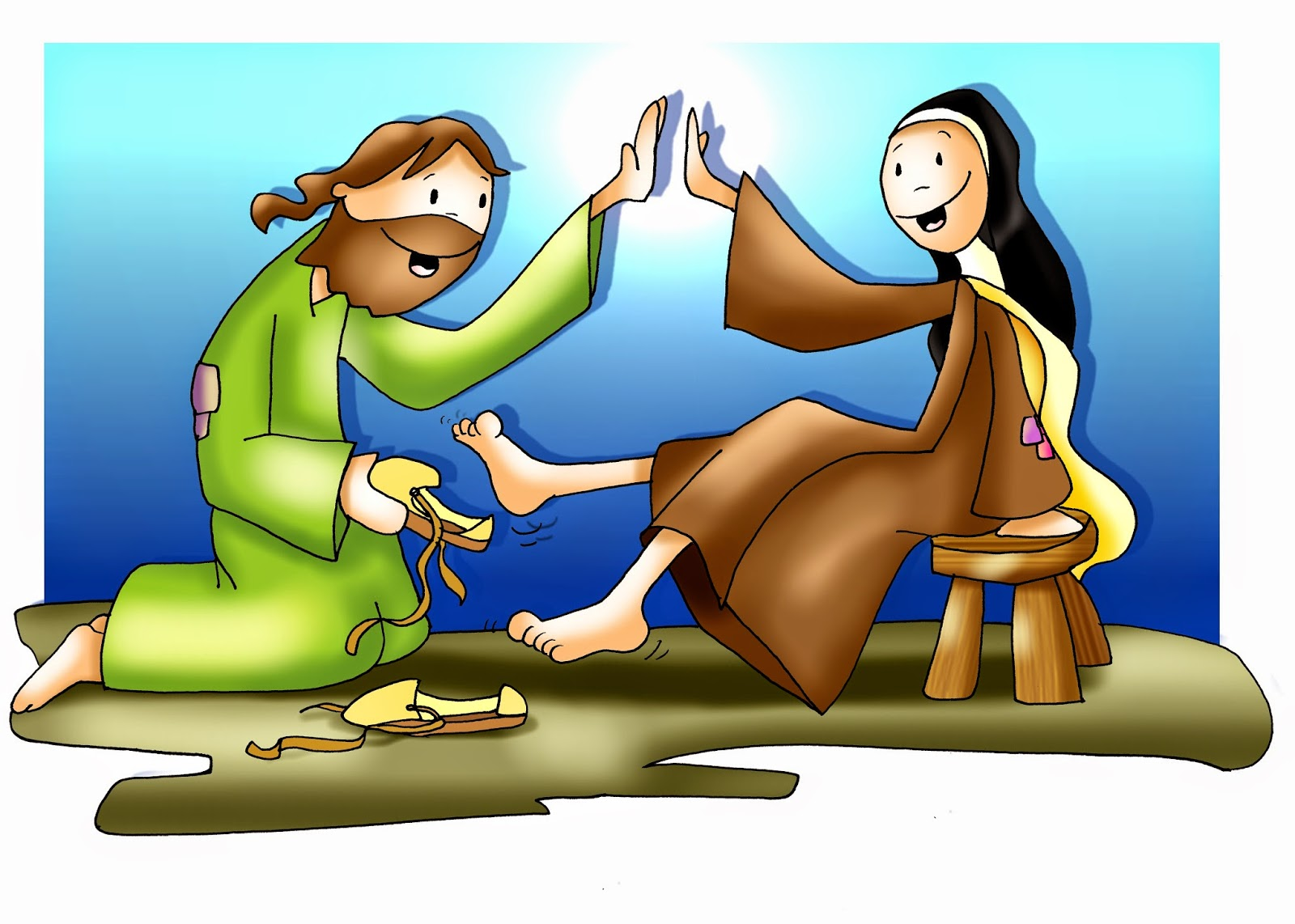 SANTA TERESA DE JESUS: Imágenes de FANO de santa Teresa de Avila