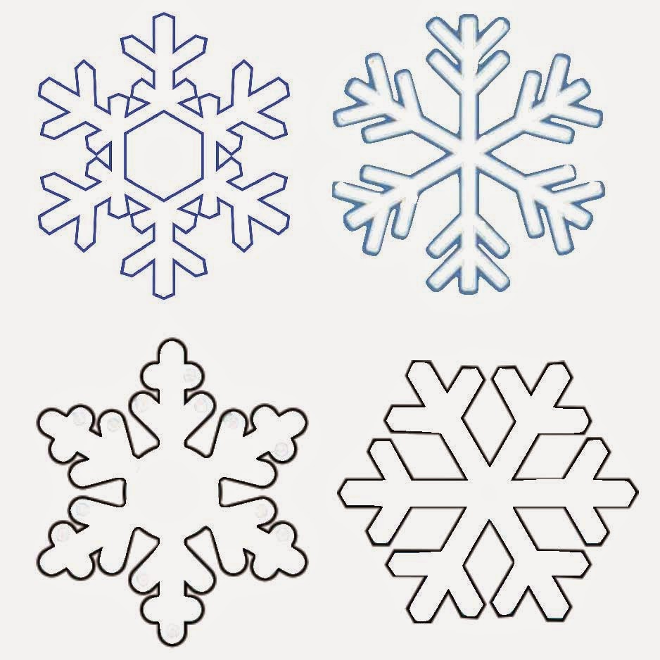 This is a photo of Gorgeous Free Printable Snowflake Patterns