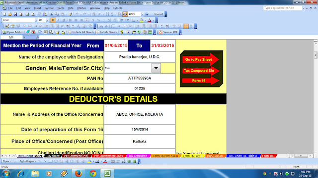 Slab fy tax 2015-16 pdf income for