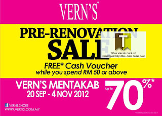 Vern's Pre-Renovation Sale