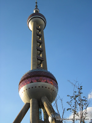 The Oriental Pearl Tower - 东方明珠塔 - Shanghai