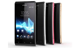 Harga dan Spesifikasi Sony Xperia J ST26i Terbaru