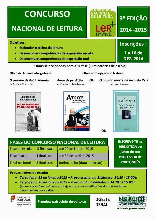 Concurso Nacional de Leitura 2015