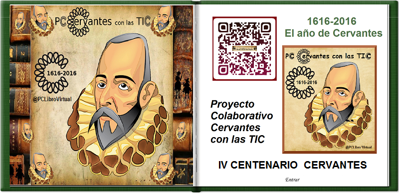 Libro Virtual Cervantes con las TIC