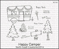 North Coast Creations Happy Camper