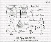 North Coast Creations Happy Camper