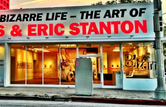 """Eric Stanton Exhibit"" by Richard Perez at the Taschen Gallery"