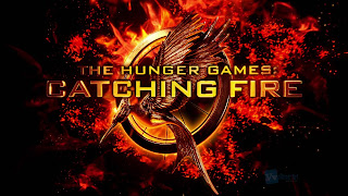 The Hunger Games Catching Fire Logo HD Wallpaper