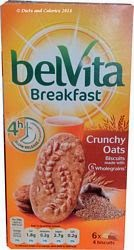 Belvita breakfast biscuit crunchy oats