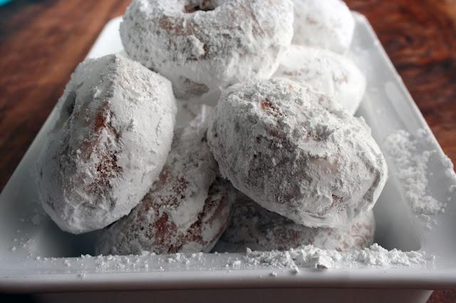 Powdered Sugar Donuts Recipe