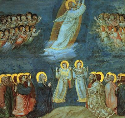 The Ascension by Giotto di Bondone AD 1313