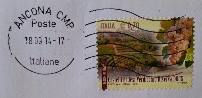 francobollo Castelli di Jesi Verdicchio Riserva DOCG