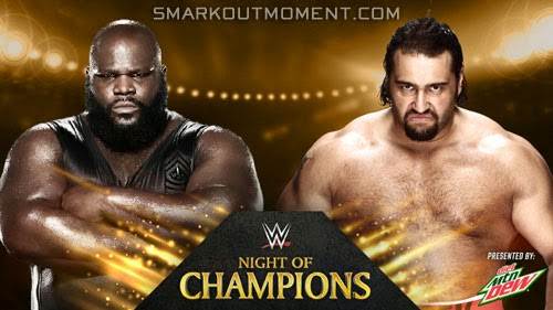 WWE Night of Champions 2014 Pay-Per-View Rusev def Mark Henry