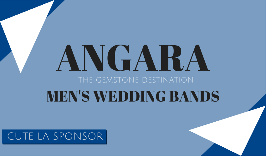 Angara Jewelry Men's Wedding Bands via Cute LA