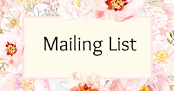 Keep up to date - join my mailing list.