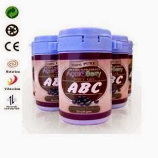 Pelansing Badan Herbal Permanen ABC Acai Berry