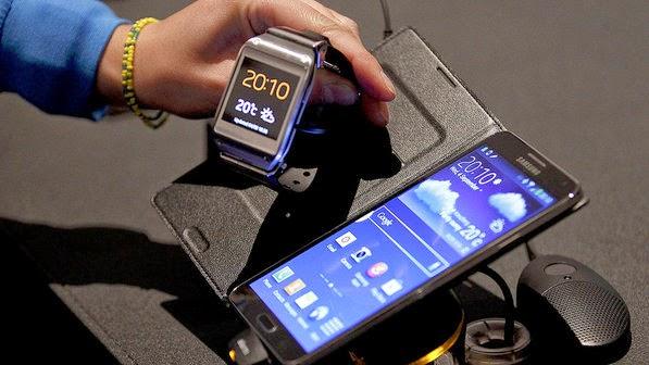 Smartphones compatíveis com os relógios da Samsung