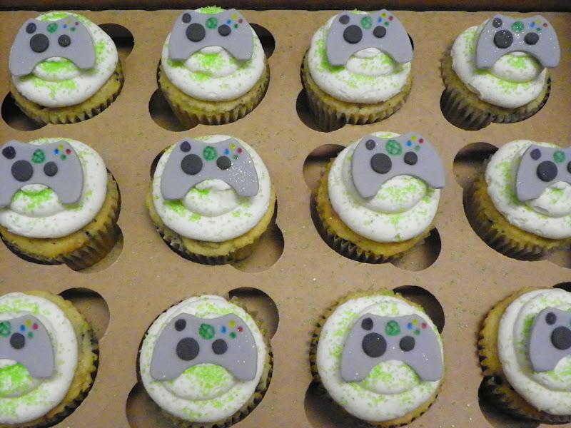 Plumeria Cake Studio Xbox Video Game Birthday Cupcakes Cookies