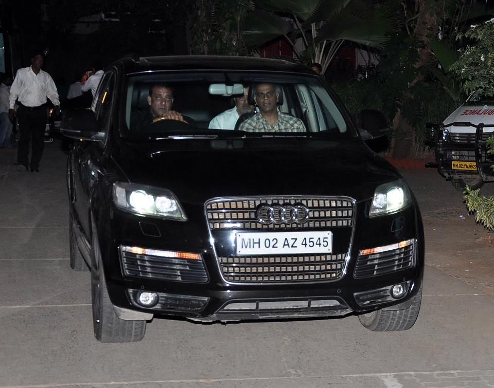 BEST NEW CARS BMW: Sanjay Dutt in his Audi Q7