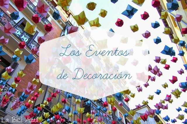 Hoy compartimos el blog los eventos de decoracion for Feria decoracion madrid