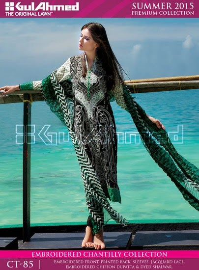 Chantilly De Chiffon Summer Collection by Gul Ahmed 7