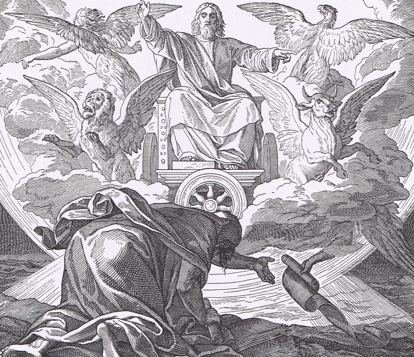 Symbols of the gospel writers bible saints ezekiels vision biocorpaavc