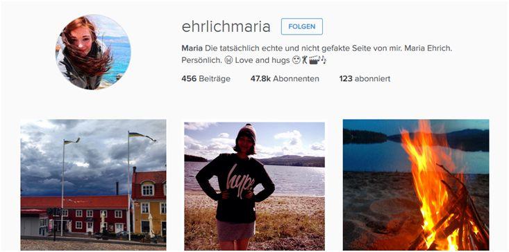 Folgt Maria @ehrlichmaria auf Instagram!