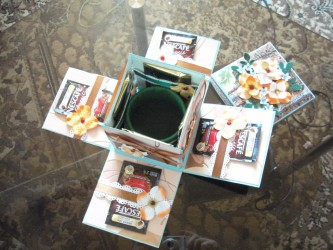 Как сделать своими руками коробку с конфетами