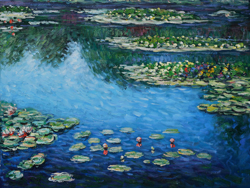 Claude Monet Liked Water Lilies And Painted Them With A Fierce Passion It Isnt Hard To Understand Why The French Impressionist Artist Became Smitten