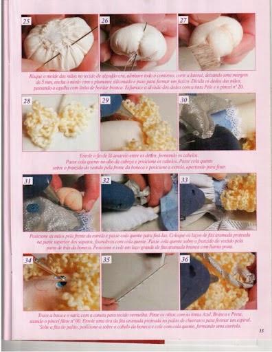 Guirlanda de natal com enfeites de feltro