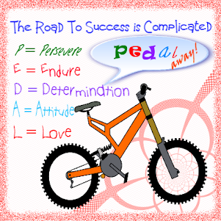 PEDAL = I came up with a few skills you need to possess :)