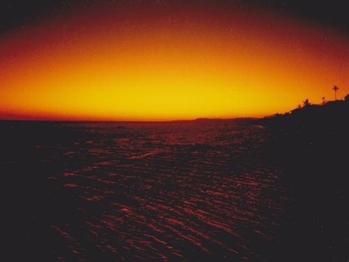 南太平洋の夕暮れ☆それまでの人生で初めて「物凄い」と思ったサンセット