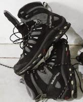 Sepatu gunung Salomon Quest 4D II GTX