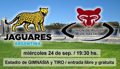 Los Jaguares enfrentarán a Los Mayuatos en Salta