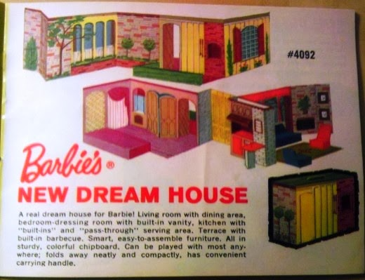 Elegant Barbieus First Dream House Was Designed In By Barbieus Creator Ruth  Handler The Home Was Constructed Entirely From Cardboard And Was Designed  In A ...