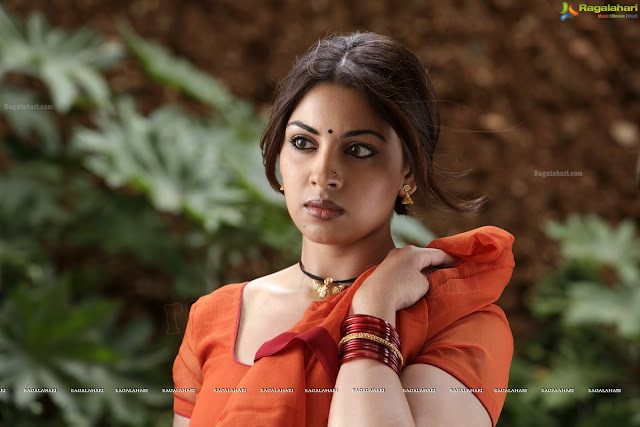 Richa Gangopadhyay Hot in saree